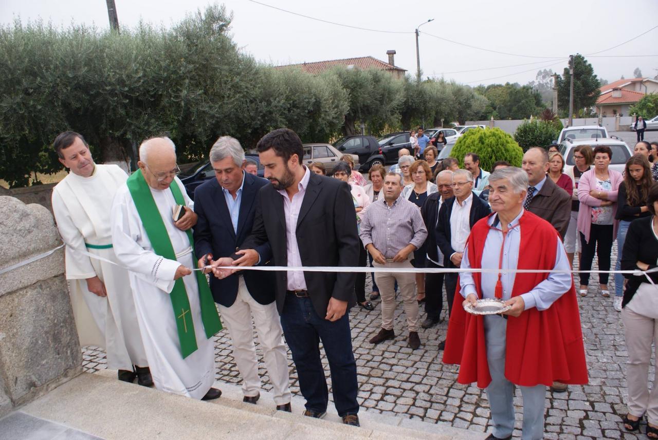Inauguração das obras de beneficiação do átrio da igreja